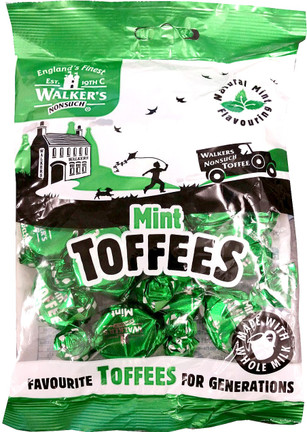 Walkers Nonsuch Mint Toffee 150g