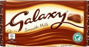 Galaxy Large Milk Chocolate Bar 114g