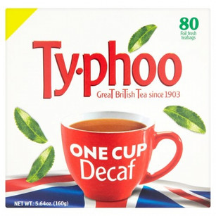 Typhoo 1 Cup Decaf 80 Pack