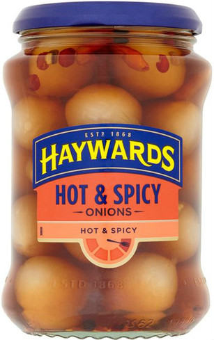Haywards Hot & Spicy Pickled Onions 400g