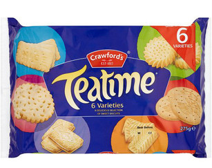 Crawfords Teatime Biscuits 275g *BEST BEFORE APRIL 24, 2021*
