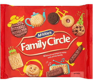Family Circle Biscuits 310g