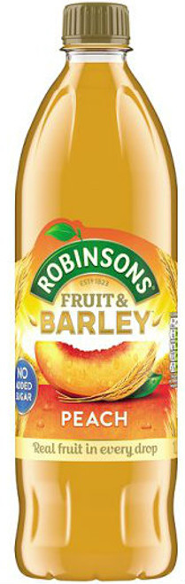 Robinsons Peach Barley Water 1Ltr