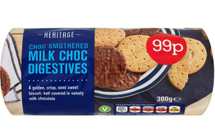 Heritage Milk Chocolate Digestives 300g