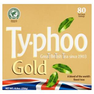Typhoo Gold Tea 80 Pack