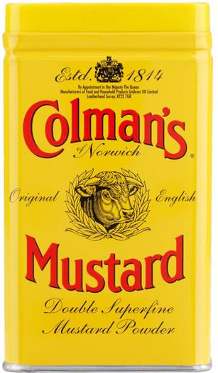Colmans Mustard Powder Large Tin 454g