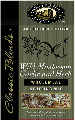 Shropshire Spice Co.Wild Mushroom, Garlic & Herb Stuffing Mix 150g