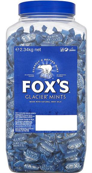 Foxs Glacier Mints Jar 2.34Kg