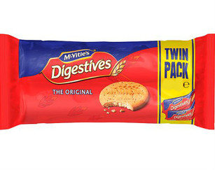McVities Digestives 800g Twin Pack (2x400g)
