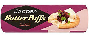 Jacobs Butter Puffs 200g