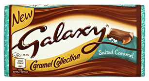 Galaxy Salted Caramel Bar 135g