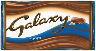 Galaxy Crispy Bar 102g