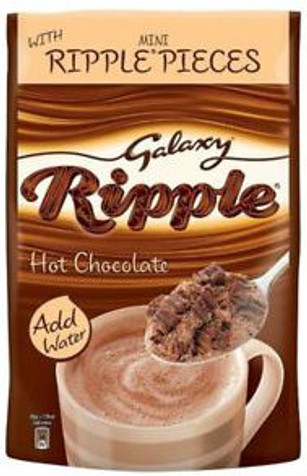 Galaxy Ripple Instant Hot Chocolate Treat Pouch 140g