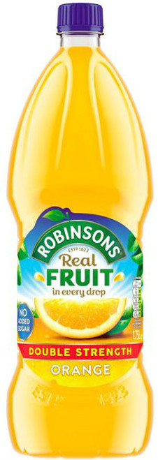 Robinsons Orange Double Concentrate 1.75Ltr