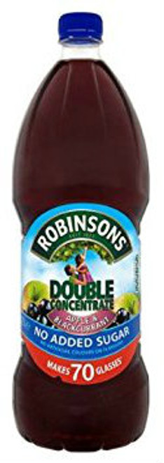 Robinsons Apple and Blackcurrant Double Concentrate NAS 1.75 Ltr