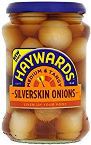 Haywards Silverskin Onions Medium and Tangy