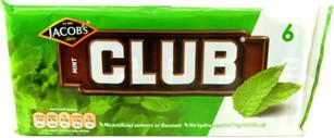 McVities Club Mint Pack of 6