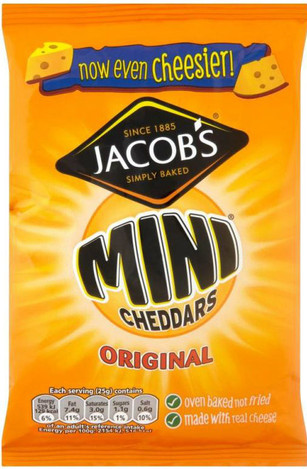 Jacobs Mini Cheddars 105g
