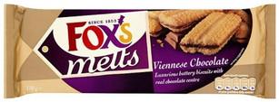 Foxs Viennese Melts Chocolate 180g