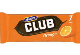 McVities Club Orange 7 pk