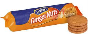 Mc Vities Ginger Nut 250g