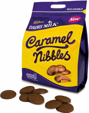 Caramel Nibbles Pouch 120g *BEST EBFORE MAY 30, 2021*