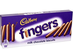 Milk Chocolate Fingers 114g