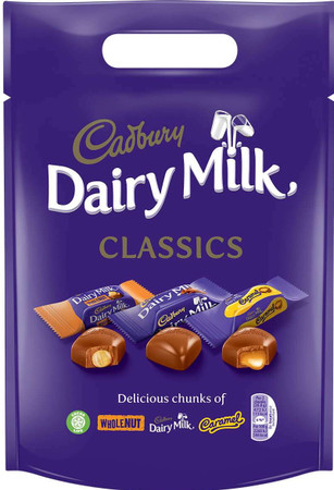 Dairy Milk Chunks Classics Pouch 350g