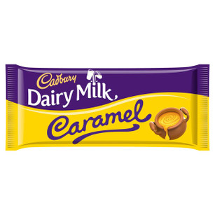 Dairy Milk Caramel Large Bar 120g