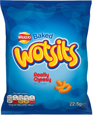 Walkers Wotsits - 8 pack