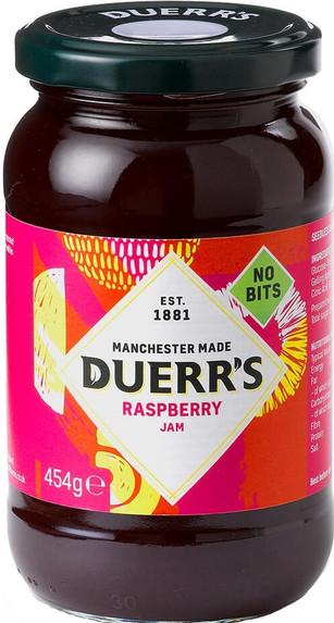 Duerrs Raspberry Jam 454g