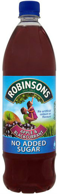 Robinsons Apple and Blackcurrant Squash 1 Ltr