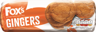 Foxs Ginger Biscuits 300g * BEST BEFORE MAY 22, 2021*