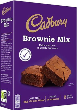 Dairy Milk Chocolate Brownie Mix 350g