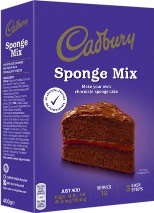 Dairy Milk Chocolate Sponge Mix 400g