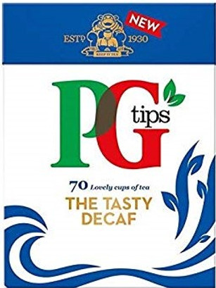 PG Tips Decaf 70 Pack