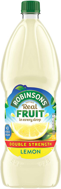 Robinsons Lemon Cordial Double Concentrate 1.75 Liter