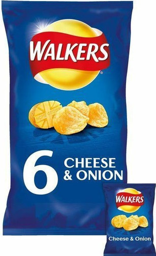 Walker's Cheese & Onion 6 Pack