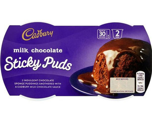 Dairy Milk Chocolate Sponge Pudding 2x95g