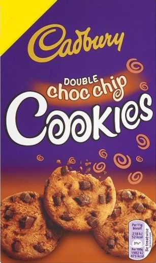 Dairy Milk Double Chocolate Chip Cookies 150g
