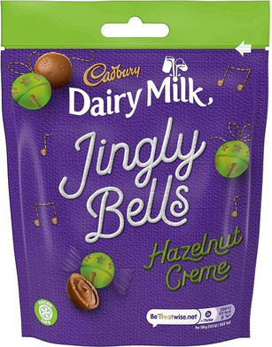 Jingle Bells Hazelnut Cremes 82g