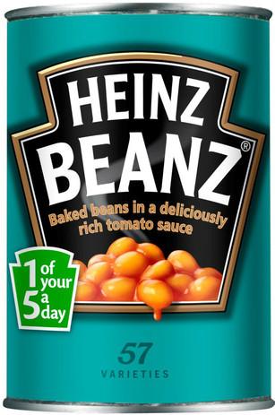 Heinz Beans 385g - 5 Pack