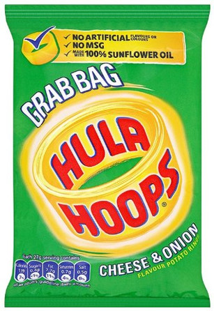 Hula Hoops Cheese & Onion 12 Pack
