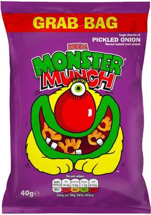 Monster Munch Big Grab Bag 40g - 10 Packs