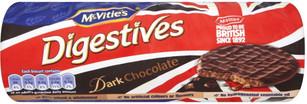 Mcvities Dark Choc Digestives 300g 3 Pack