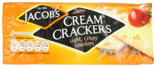 Cream Crackers 6 Pack