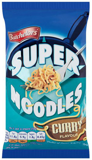 Batchelors Supernoodles Curry 100g