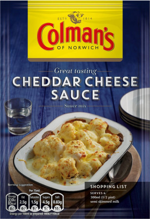 Colman's Cheddar Cheese Sauce