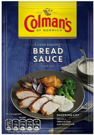 Colman's Bread Sauce