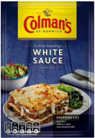 Colman's Savory White Sauce